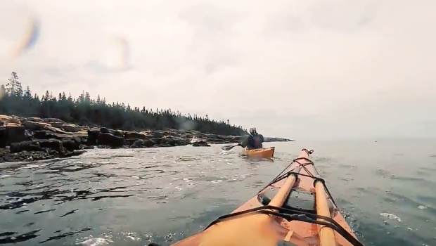 Scouting Schoodic Point for the Sea Kayak Retreat