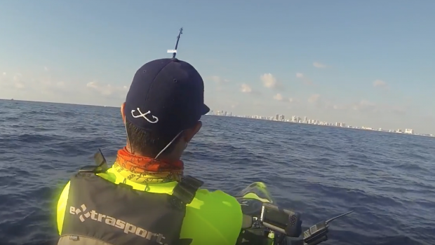 Kayak fishing, Husband vs Wife...