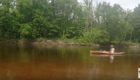 Kayaking for Driftwood