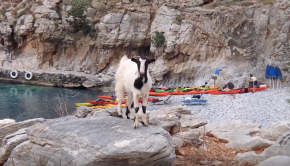 Crete Sea Kayaking and camping with Explora Expeditions May 2018