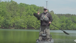 How to Paddle A Fishing Kayak Standing Up