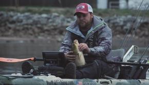 Asian Carp Broken Rod | Kayak Bass Fishing National Championship