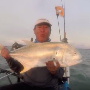 """Kayak Paddle Measuring Stick Fish - 32"""""""