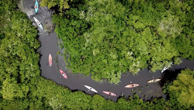 Kayaking Snake River with RICKA