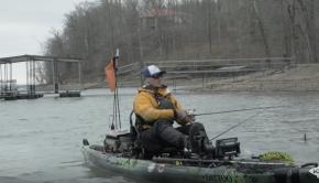 Jedediah Plunkert Talking to Fish   2018 Kayak Bass Fishing National Championship