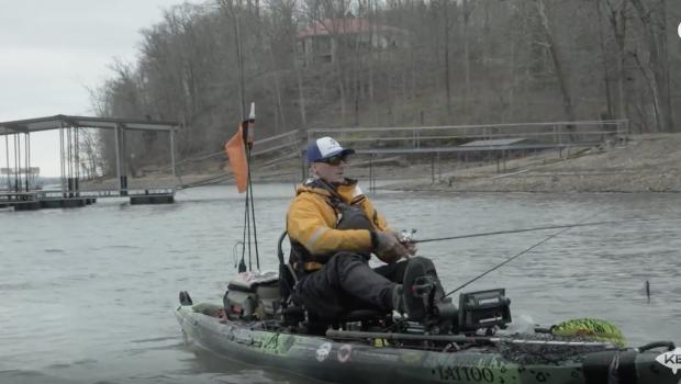 Jedediah Plunkert Talking to Fish | 2018 Kayak Bass Fishing National Championship