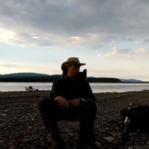 Yukon river in Alaska. 3 week solo camping trip