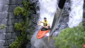 Ultra Realistic Modeling - White Water Kayaking