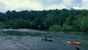 Kayaking on the Upper James River - Wanderlove