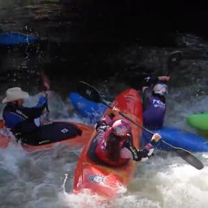 8 Ball kayak carnage! :0