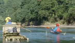Paddling in Jamaica   Running the Rio Grande in a Kayak