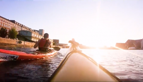 Kayaking in the Copenhagen Canals