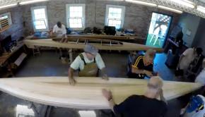 Making the microBootlegger Kayak - WoodenBoat School Class