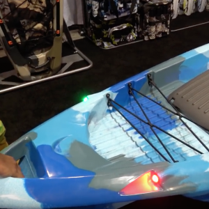 FINAL! FeelFree DORADO Kayak with Pedal/Motor System ICAST 2018