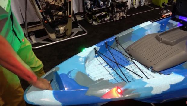 FINAL! FeelFree DORADO Kayak with Pedal/Motor System ICAST 2018