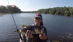 Froggin' for Largemouth Bass (Kayak Fishing!)