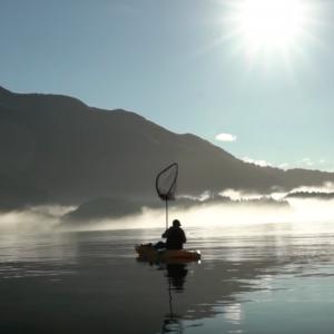 Ocean Kayak Fishing 100ft Deep!