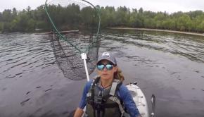Kayak Musky Fishing SOLO --North Tour Pt. 6