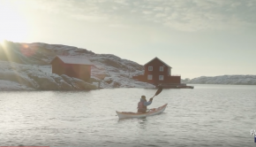 Kayaking West Sweden's Bohuslän Archipelago in Winter