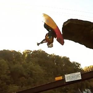 """Newest Kayaking Trick- Eric Jackson's """"Stunt Double"""""""