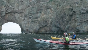 Sea Kayaking in Gaspésie, Québec | Paddle Tales