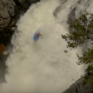 Aniol Serrasolses kayaking in California