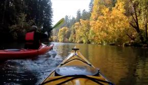 Fall Kayaking - Willamette Narrows