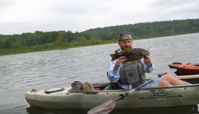 Kayak Fishing a Pond for Smallmouth & Pike | Field Trips Vermont