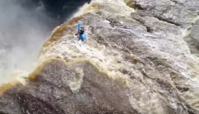 Kayaker Goes Down 110ft Waterfall | Extreme Kayaking