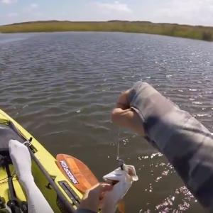 Slidell Louisiana Part #2 - Kayak Fishing the Rigolets