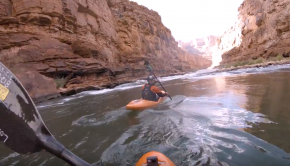5 blind veterans kayak the Grand Canyon, documented in Street View