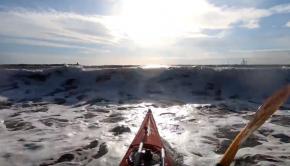 Sea Kayaking Big Surf - Newbiggin Bay