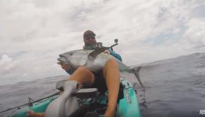 Kayak Fishing for Yellowfin Tuna in Louisiana
