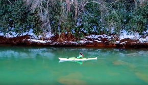 Dont let the cold stop your kayaking