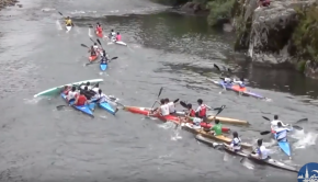 Canoe marathon funny moments