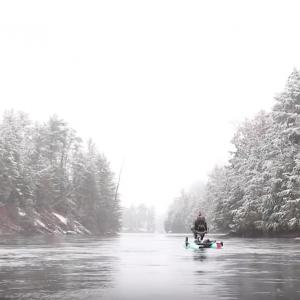 Kayak Fishing In Winter | Winter Wonderland