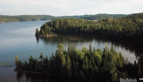 140 mile canoe trip in the Temagami Wilderness of Canada.