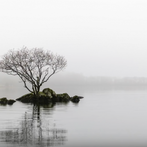 Minimalist Landscape Photography   Christmas Kayaking On Coniston