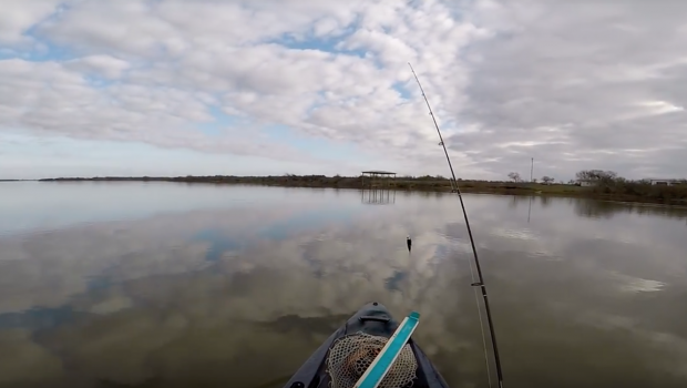 Sightcasting Redfish in an Undisclosed Location