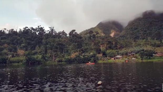 Kayaking in Mahagnao Crater Lake | Mahagnao Volcano Natural Park | Burauen, Leyte, Philippines