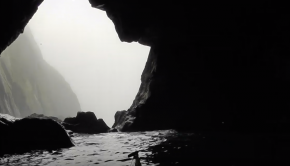 Foggy Strumble Head - Sea Kayaking Wales 2018.