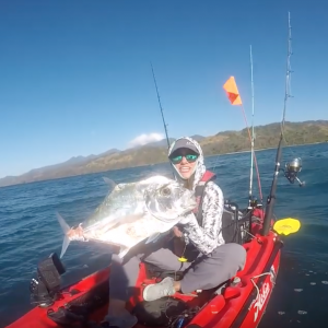The Fight That Nearly KILLED ME -- EPIC Ocean Kayak Fishing