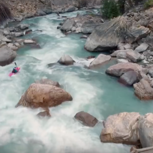 100 Seconds Of Extreme Kayaking | Raw 100 with Nouria Newman