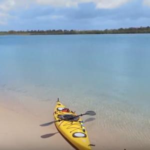 Kayaking Elliott River Queensland