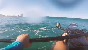 Try Not To Kook It! - Cyclone Swell On A Fishing Kayak