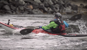 Getting Through Waves - Basic Tips - Kayak Hipster