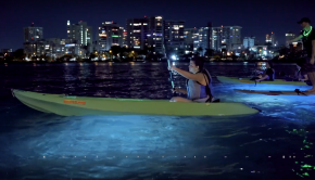Night Kayaking in the Condado Lagoon