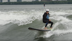 Stand Up Paddleboarding and Surfing in Montréal