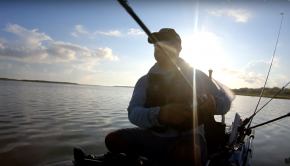 What do you do when fishing in tough? On this Behind the Scenes, Chris Castro talks about fishing for that special moment, and he continues to do it on the Old Town Predator PDL. Tune in and see what really happens before the stars align.
