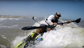 Pedal vs Paddle Offshore Kayak Fishing | How I Handle the Surf Part 2